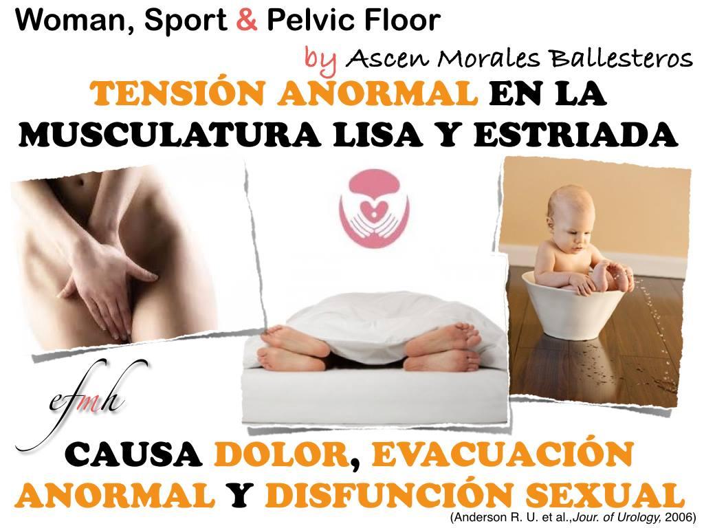 Tensión - relajación y musculosa del suelo pélvico_efmh